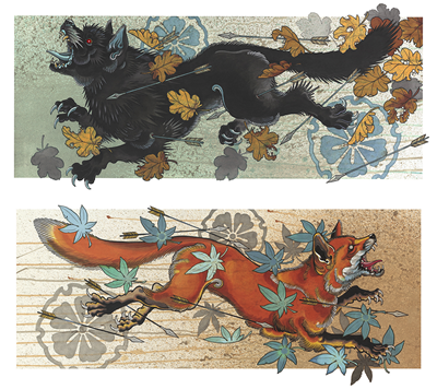 DS - Fox and Wolf Second Limited Edition run