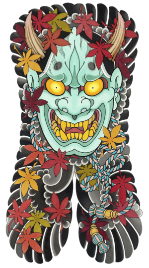 DS - hannya back