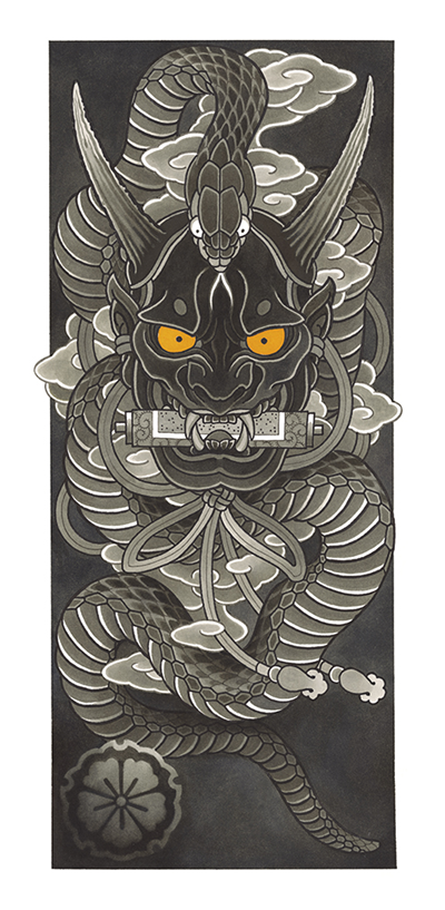 DS - Draw of the Orient 2019 - Hannya