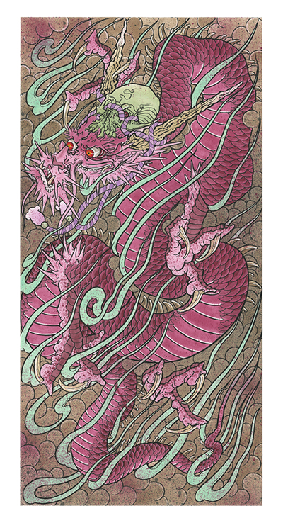 BB - Draw of the Orient 2019 - Magenta Dragon