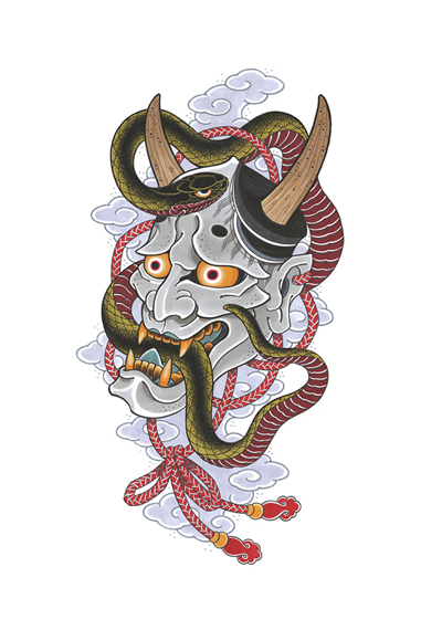 DS - Hannya Clouds