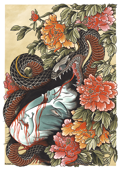 RU - Draw of the Orient 2019 - Death in Spring