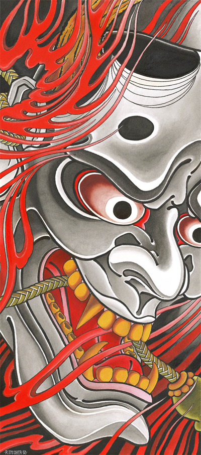 RU - Draw of the Orient - Hannya