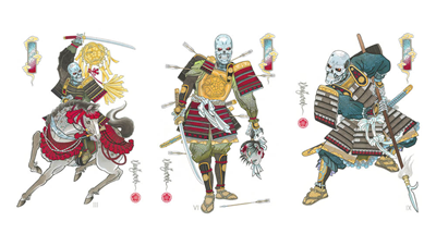 DS - Draw of the Orient - Samurai Set